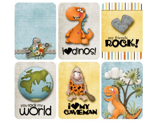 Dino Card Printables