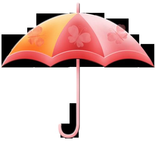 Ettes-Umbrella-pink chipboard