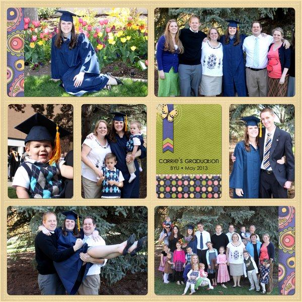 Carrie Graduation