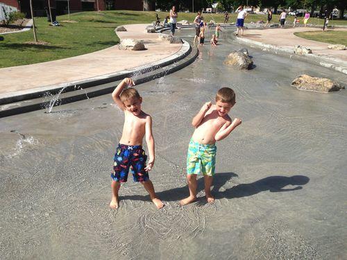 Splash Pad - Springville